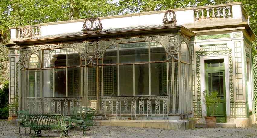 Ferronnerie - Jardin d hiver de la berteliere ...